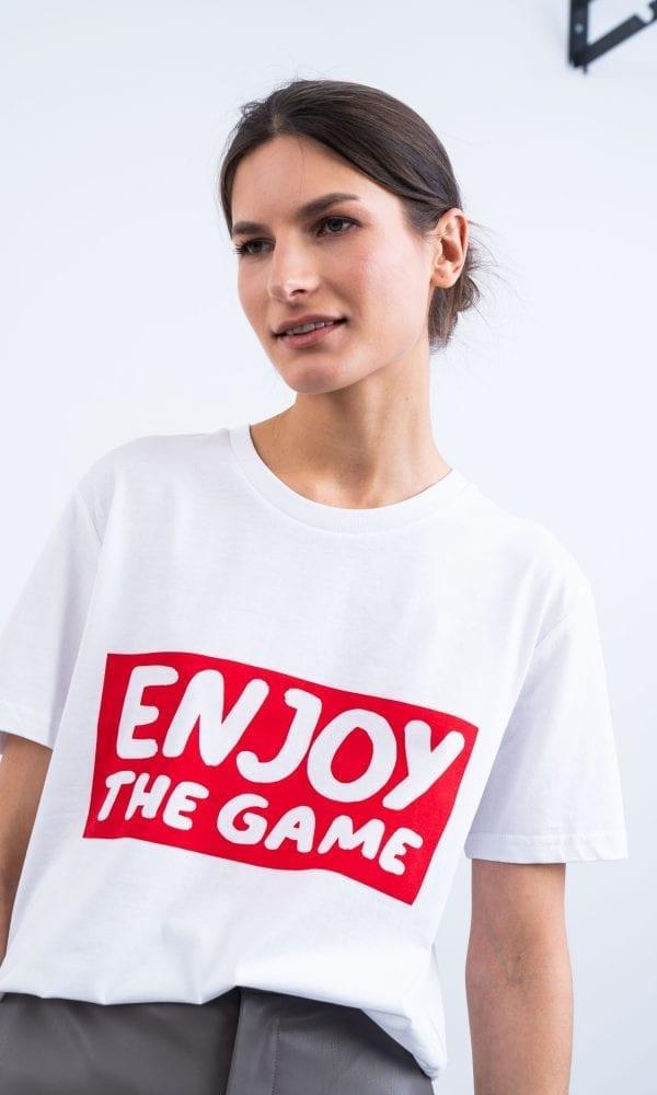 egyboy marskineliai enjoy the game nuolaida